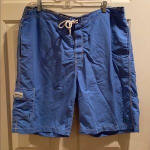 Polo by Ralph Lauren men's blue swim trunk